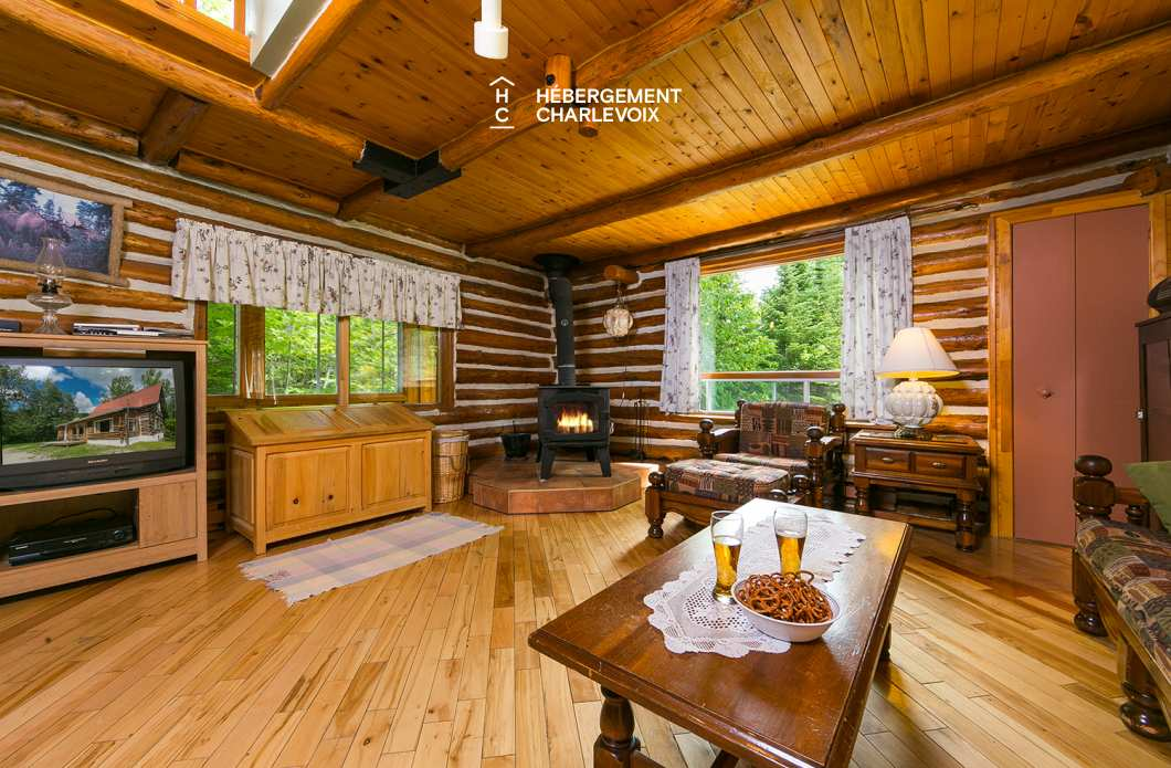 JAG-150 - Rustic log cabin for getting away from it all